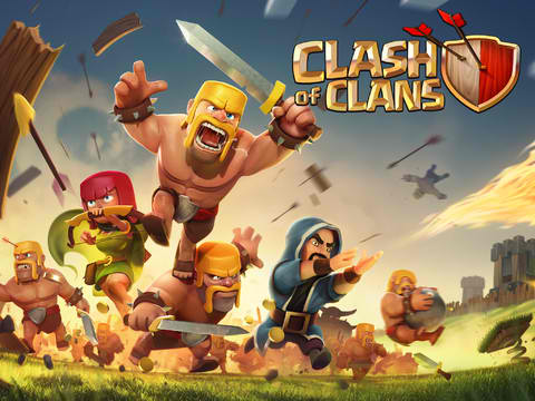 Freeze! Popular Strategy Game Clash Of Clans Updated With 'Cool' New