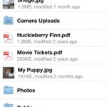 Dropbox for iPhone 2