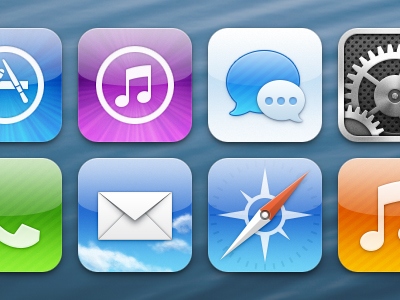 One Former Apple Designer Offers His Own iOS 7 Concept