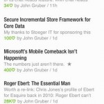 Feedly for iPhone 3