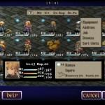 Final Fantasy Tactics for iPad 4