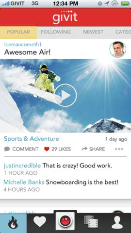 This Is Madness: Givit Video-Sharing App Updated With '300′ Effect And Other Features