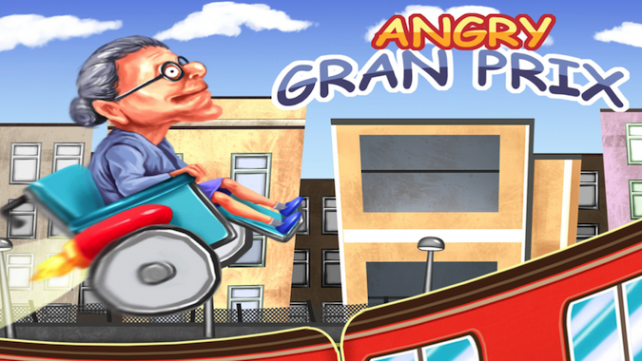 Quirky App Of The Day: Clear The Subway Tracks In Angry Gran Prix