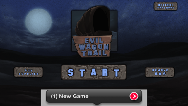 Quirky App Of The Day: You Probably Won't Make It To Oregon In Evil Wagon Trail