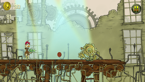 Steampunk Chicken - Free iPhone/iPad Racing Edition by Surf City Games LLC screenshot