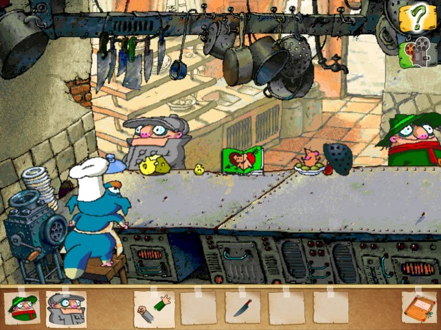 Help Rescue Arsenic The Cat Before He Becomes Cat Food In Pilot Brothers 2