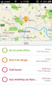 Nearly - Smart Location Reminders by Ryan Kaminsky screenshot