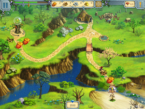 Druid Kingdom HD by Nevosoft screenshot