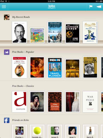 Kobo For iOS Updated With New Reading Gestures And Other Improvements