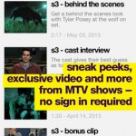 MTV for iPhone 2