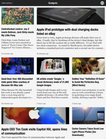 Newsify Updated With Feedly Cloud Support Ahead Of Google Reader Shutdown