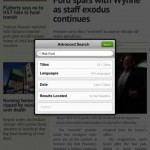 PressReader for iPad 4