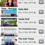 PressReader for iPhone 2