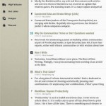 Slow Feeds for iPad 1