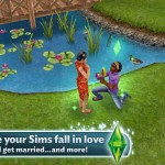 The Sims FreePlay for iPad 4