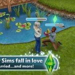 The Sims FreePlay for iPhone 4