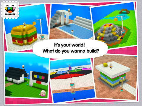 Create Fantastic Worlds With Toca Boca's 'Minecraft For Kids' Game, Toca Builders