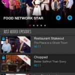Watch Food Network for iPhone 1