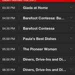 Watch Food Network for iPhone 5]