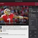 Yahoo! Sports for iPad 3