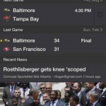 Yahoo! Sports for iPhone 4