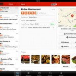 Yelp for iPad 2