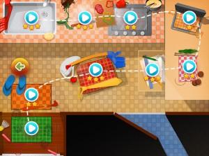 Droppy: Adventures (iPad 2) - Stages