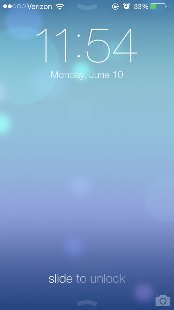 Ipad Lock Screen Ios 7 Ios 7 Lock Screen Wwdc
