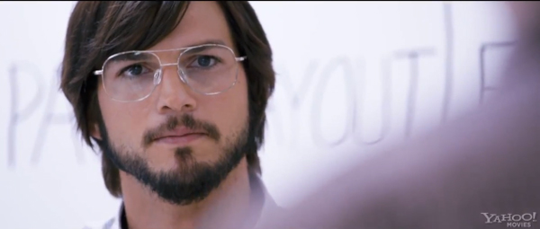 JOBS - Oficiální psychedelický plakát životopisného filmu s Ashtonem Kutcherem