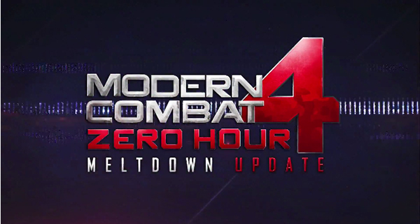 Modern Combat 4′s 'Meltdown' Update Will Hit The App Store This Week