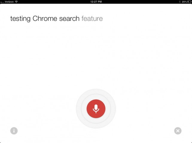 Google Chrome Updated With Improved Voice Search