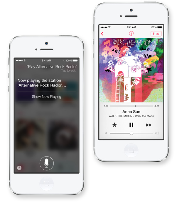 iTunes Radio with Siri