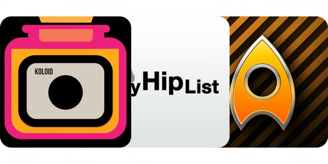 Today's Best Apps: Koloid, MyHipList And Axiom
