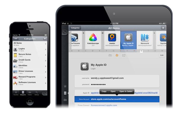 1Password for iOS