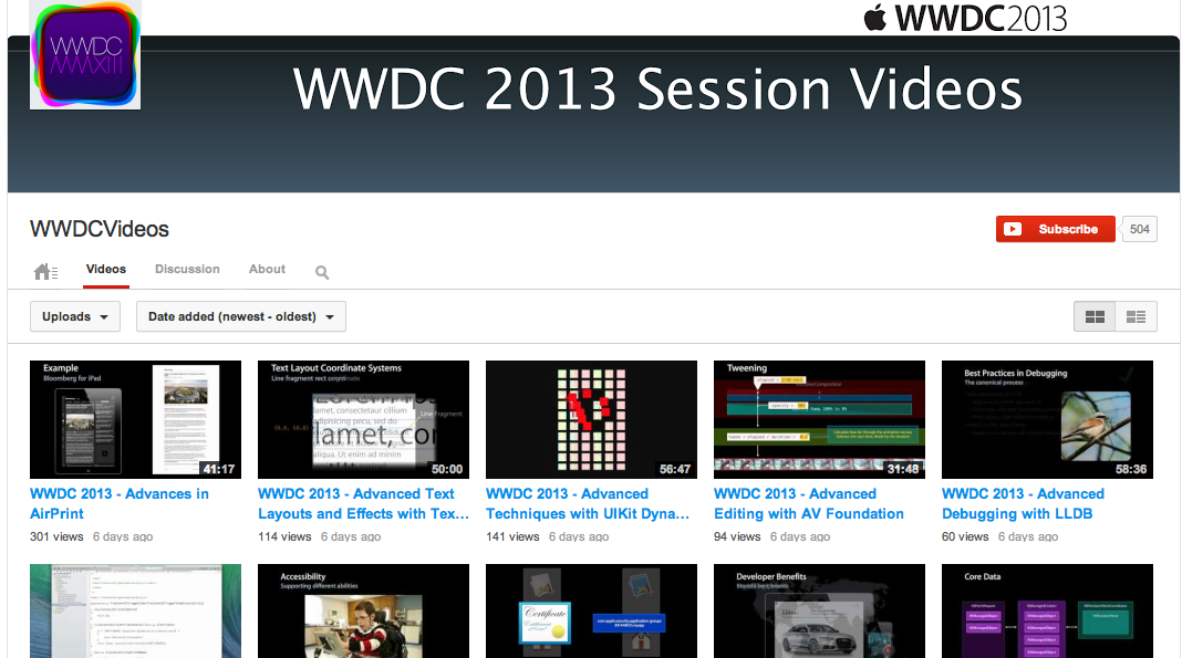 Session Videos