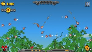 Kamikaze Pigs by Chillingo Ltd screenshot