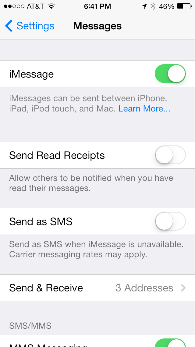 how to get a line through text on imessage