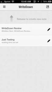 WriteDown - a Markdown text editor with syncing support by NGUYEN VINH screenshot