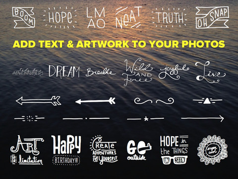 Θες να περάσεις κείμενο στις φωτογραφίες σου;