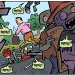 Plants vs Zombies Comics for iPhone 5]