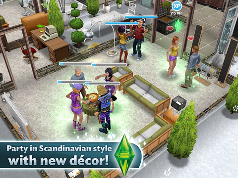 how to get a haunted house in sims freeplay