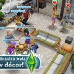 Last month, The Sims FreePlay was updated with a weather machine from