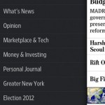 The Wall Street Journal for iPhone 2