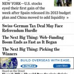 The Wall Street Journal for iPhone 3