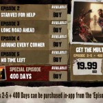 Waking Dead- The Game for iPhone 3