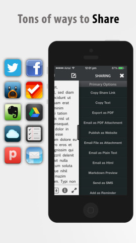 how to write on a pdf file on iphone