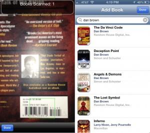 BookBuddy version 5.0 (iPhone 5) - Add Book