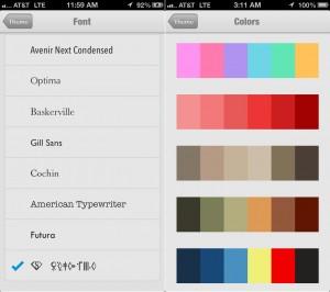 DataMan Next version 6.5 (iPhone 5) - Themes