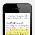 dotdotdot Reader for iPhone 1