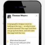 dotdotdot Reader for iPhone 3